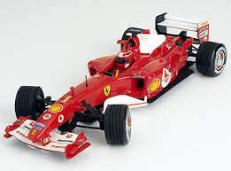 Tecnitoys scalextric Coche Ferrari F1 2004 Schumacher (sin Caja) Nuevo