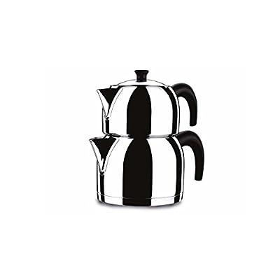 Korkmaz Orbit Tea Pot Set midi Size (Turkish Style)