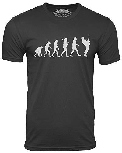 Guitar Player Evolution Funny T-Shirt
