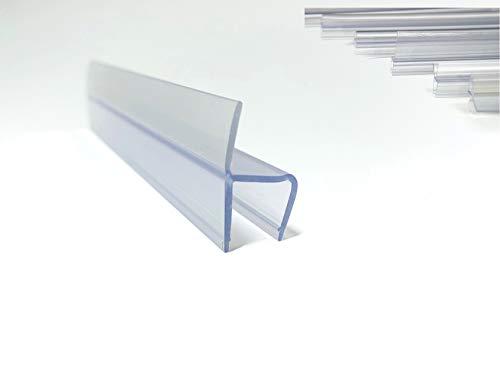 Juntas de plastico para Cortina de Cristal (2500mm, Cristal 10mm, 10)