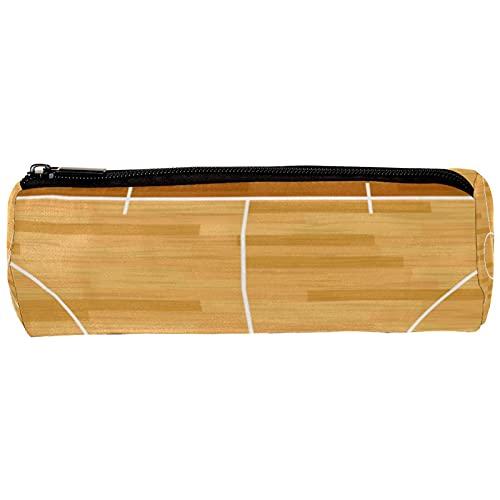 Estuche realista para lápices de baloncesto para la corte de baloncesto, bolsa de lápices, organizador de escritorio, bolsa de cosméticos para la escuela y la oficina