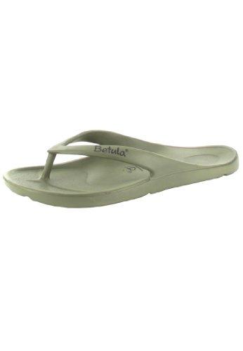 Betula Energy Bade-Sandalen Eva, Khaki, Größe 39 mit normalem Fußbett