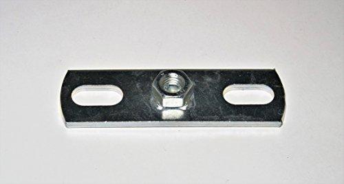 10 Stück Montageplatten/Halter (M 8)