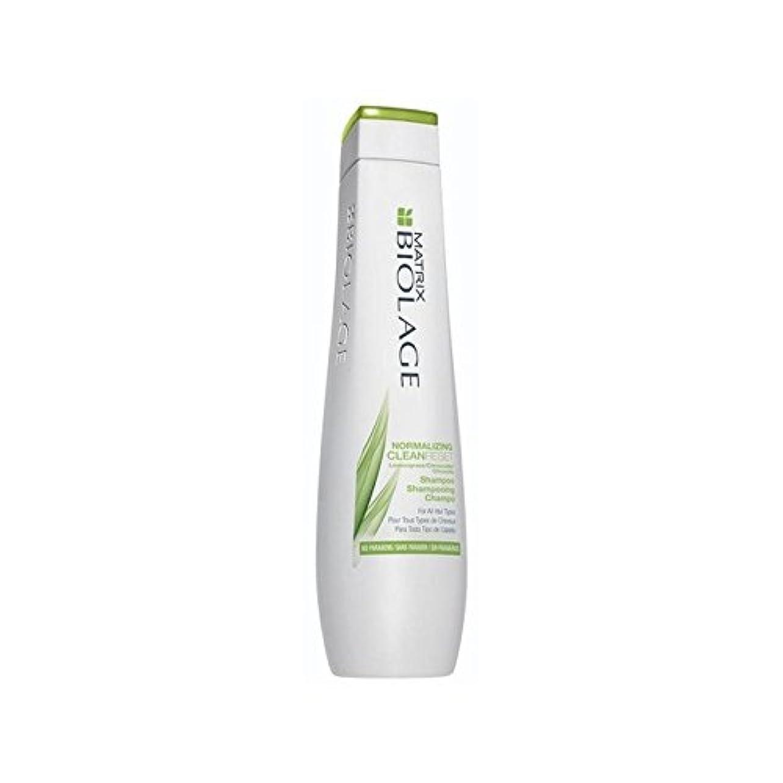 岸故意に机マトリックスバイオレイジ頭皮正規化シャンプー(250ミリリットル) x2 - Matrix Biolage Scalptherapie Scalp Normalizing Shampoo (250ml) (Pack of 2) [並行輸入品]