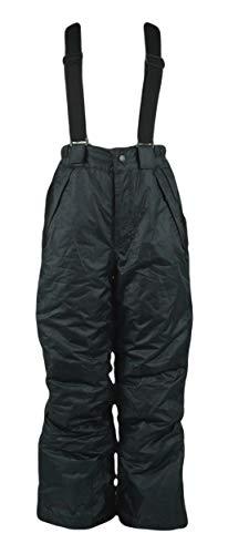 Generisch Jungen Kinder Skihose Wintersport Sporthose Schneehose Hose, Farbe:Schwarz, Größe:146/152