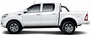 Foton Tunland P201 2014 to Current to suit Sports Bar, Clip On Ute Tonneau Cover. Tuff Tonneaus Ute Covers are Australian ...