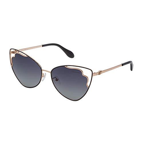 Blumarine SBM152 301 57-16-140 - Gafas de sol para mujer, color oro rosa brillante