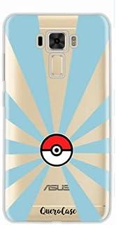 Capa para Zenfone 3 Laser 5.5 Pokemon Go