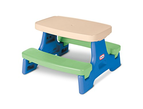 Little Tikes Easy Store Children's Picnic Table with Umbrella