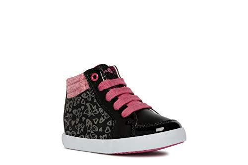 Geox Laufschuhe Mädchen, Farbe Schwarz, Marke, Modell Laufschuhe Mädchen B GISLI G Schwarz