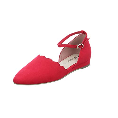 TAMARIS Damen 1-1-24201-24 686 Ballerinas, Rot, 41 M EU