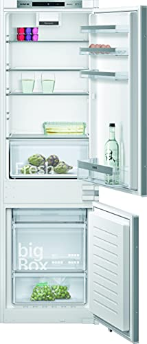 Siemens KI86NVSF0 iQ300 Einbau-Kühlgefrierkombination / F / 277 kWh/Jahr / 254 l / noFrost / Big Box / LED Beleuchtung