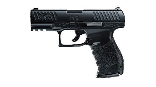 Walther Softair Federdruck Max. 0.5 Joule PPQ Metallschlitten Airsoft Pistole, Schwarz, One Size