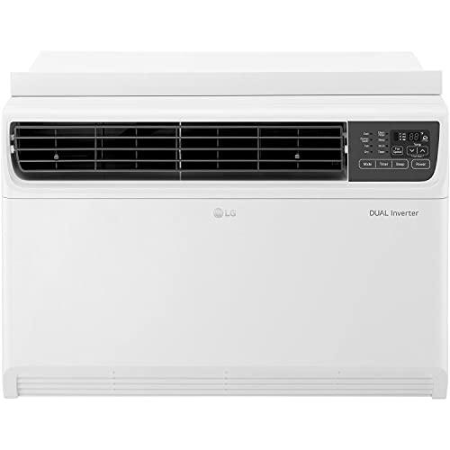 LG 18,000 BTU 230V Dual Inverter Window Air Conditioner with Wi-Fi Control, 18000, White