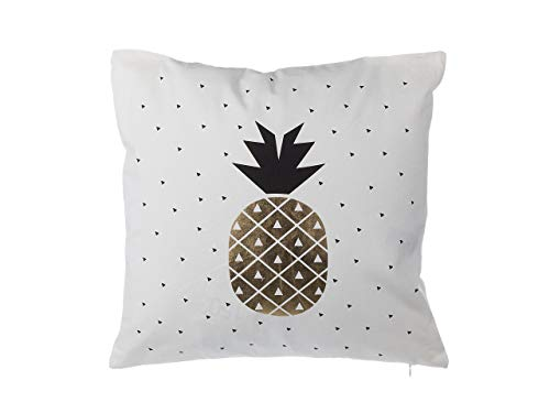 VENTE Noir /& or rectangulaire Ananas Coussin Sass and Belle