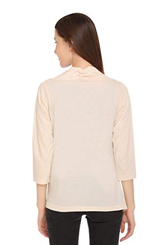 In Love Casual Cotton Shrugs for Women for Summers Full Sleeves Off White