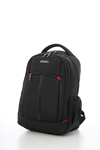 Aerolite Business Backpack 55x35x20 IATA Hand Cabin Luggage Laptop Rucksack Shoulder Bag – Approved for Ryanair, Easyjet, BA & Jet2, Black