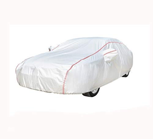 Custom Made Car Cover Compatibile con BMW X1 4 Serie M2 X2 M5 M3 Serie 6 5 Silver Series Protezione Solare Antipolvere e Antipioggia (Color : Silver, Size : M3)
