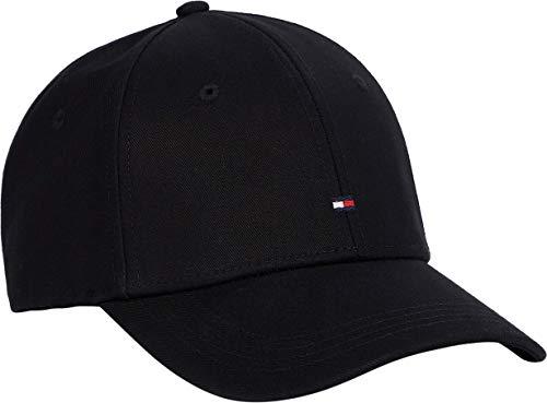 Tommy Hilfiger Classic Flag Cap Tapa, Black, Talla Única para Mujer