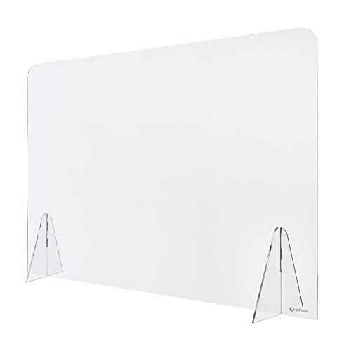 Radex 85010200 Con peanas y sin ventana Duschwand aus Plexiglas, 75 x 100 cm, durchsichtig