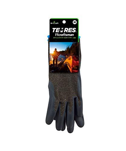 [テムレス] ワーキンググローブ 手袋 アウトドア 登山 キャンプ 11 craftsman Lサイズ