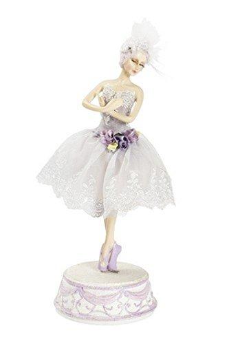 MAXIOCCASIONI Música Bailarina Ballet Classic Lila sprammobile BOMBONIERA