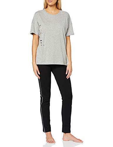 ESPRIT Bodywear Damen GOLDAH CAS NW Pyjama Pyjamaset, 040, 40