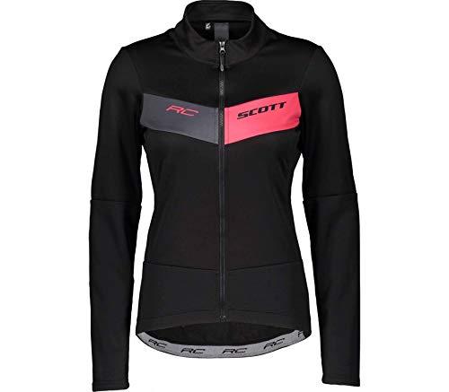 Scott - Radsport-Jacken für Damen in black/azalea pink, Größe 38-40