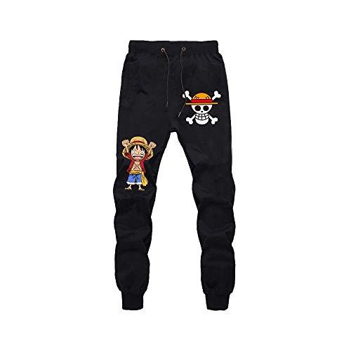 Pantalones De Jogging Hombres Mujeres Jogger Anime One Piece Luffy Law Impresos Cosplay Gym Joggers Pantalones De Chndal De Ajuste Pantalones Deportivos Casuales XL