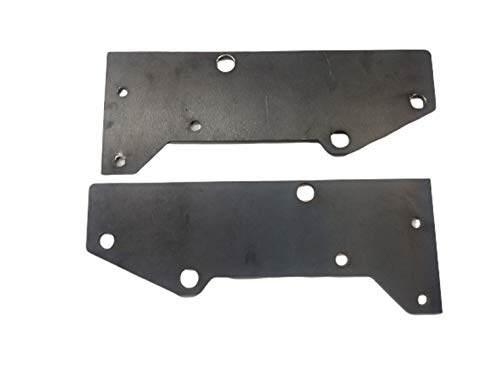 Front Bumper Mounting Plates for Jeep Cherokee XJ