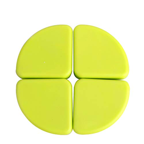 WYQ Protection Coin Green Corner Guards Pack of 4 for Protections d'angle de sécurité TPE pour bébés Safety First, Soft and Tough (Couleur : Green)