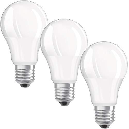 OSRAM LED VALUE CLASSIC A 75 E27 MATT 10W=75W 1055lm Neutralweiß 4000K nodim 3er