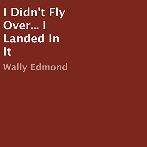 I Didn't Fly Over...I Landed in It audiobook cover art
