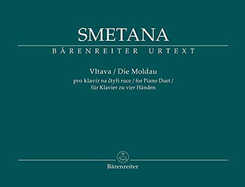 Die Moldau (Vltava): Fassung für Klavier zu vier Händen
