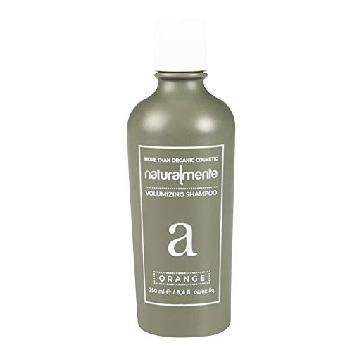 Naturalmente - Orange Shampoo Volumizzante Ristrutturante per Capelli Sottili e Fragili - 250ml