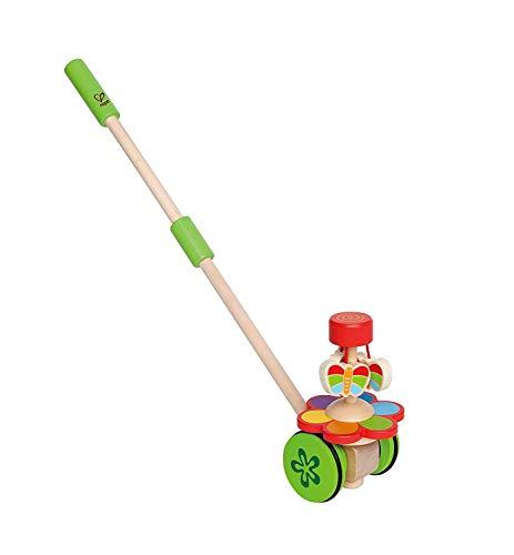 Lalia Schiebe/Nachzieh Spielzeug Schmetterlinge. Motorik-Spielzeug perfekt für Kleinkinder ab 2 Jahre Holzspielzeug Jungen und Mädchen. Tolles Geschenk