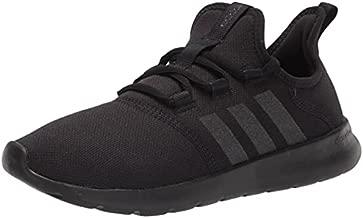 adidas Women's Cloudfoam Pure 2.0 Running Shoes, Black/Black/Core White, 8