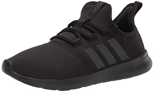 adidas Women's Cloudfoam Pure 2.0 Running Shoes, Black/Black/Black, 9.5