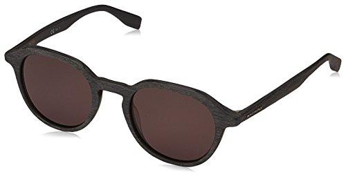 BOSS Orange Sonnenbrille BO0321S-2X870-49 Occhiali da Sole, Nero (Schwarz), 49 Unisex-Adulto