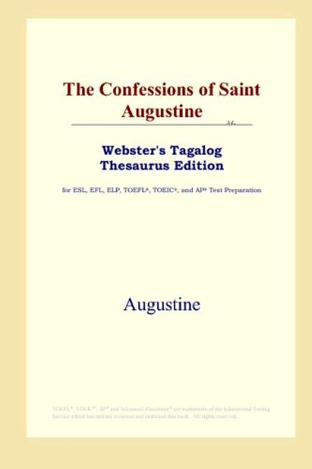 航空便ディレクター分散The Confessions of Saint Augustine (Webster's Tagalog Thesaurus Edition)