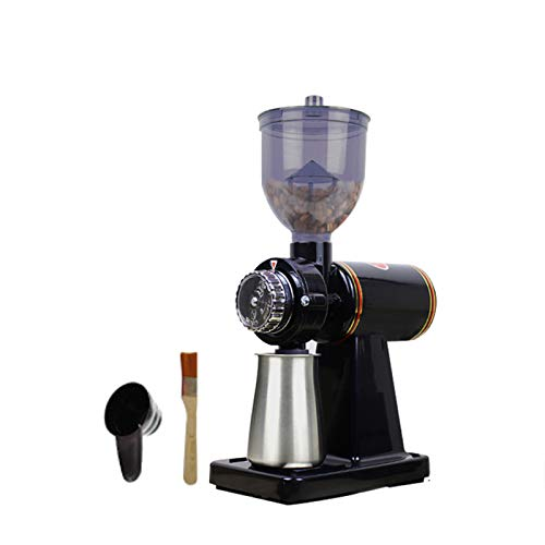 Máquina De Molienda Eléctrica Inicio Grindero De Café Pequeño Negocio Peinado Trituradora Cuchilla Redonda, Ocho Sets De Café Americano De Goteo