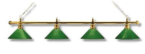 London biljartlamp model, 4 letters, lengte 180 cm, diameter lampenkap 35 cm
