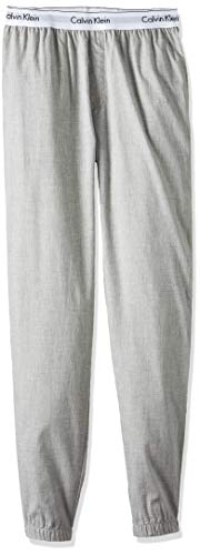 Calvin Klein Jogger Pantalones de Pijama, Gris (Heather Grey 080), XL para Hombre