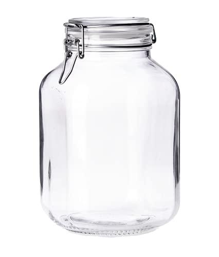 frascos de vidrio ambar de 1 litro fabricante Borgonovo