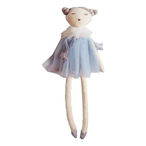 NIMON Kinder Cartoon Puppe Nordische Art Kinder Beruhigende Plüsch Puppe Handgemachte Madeleine Ballerina Weiche Schlafende Kuschel Buddy Kinder Fotografie Puppen Kinderzimmer Dekoration Fitting
