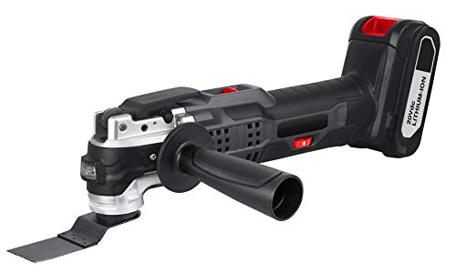 Fantastic Deal! Oscillating Tool, 20V Multi Tool w/ 2.0Ah Battery - LED Variable Speed Quick Change ...