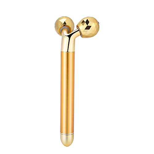 Y-Shaped Easy to Use Micro-current Massager, 24K Gold Face Massager, Body Massager, for Enhance Skin Elasticity Promote Blood Circulation