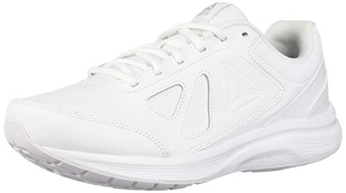 Reebok Men's Walk Ultra 6 Dmx Max Sneaker, White/Steel...
