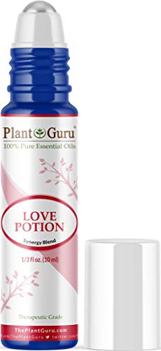 Love Potion Essential Oil Blend Roll On 10 ml 100% Pure Pre-Diluted Therapeutic Grade for Aromatherapy