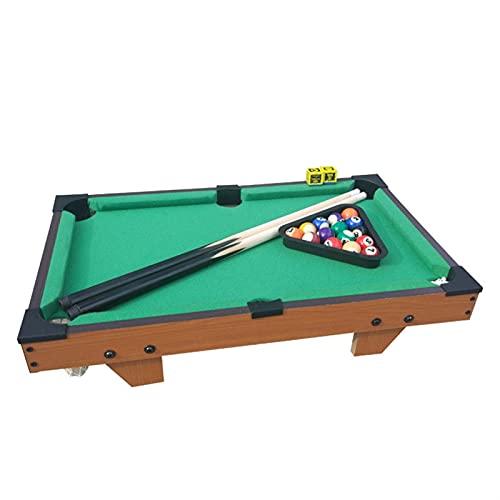 Tavolo da Biliardo per Bambini Set Mini tavolino da Biliardo Tavolo da Biliardo con Palline e Cue Bambini intrattenimento Giocattolo Sportivo (Color : A1)